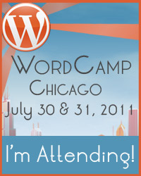 I'm speaking at WordCamp Chicago!