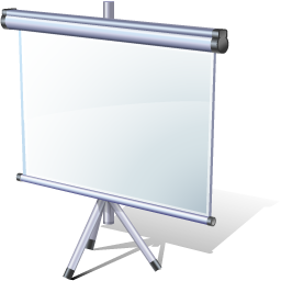 Presentation Icon by Visual Pharm - http://www.visualpharm.com/