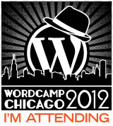 WordCamp Chicago Attendee Badge
